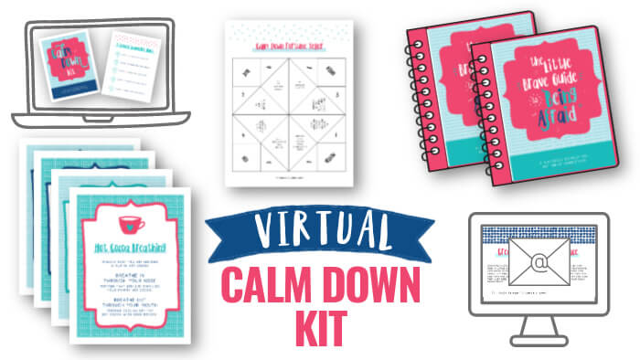 Virtual Calm Down Kit for Classrooms