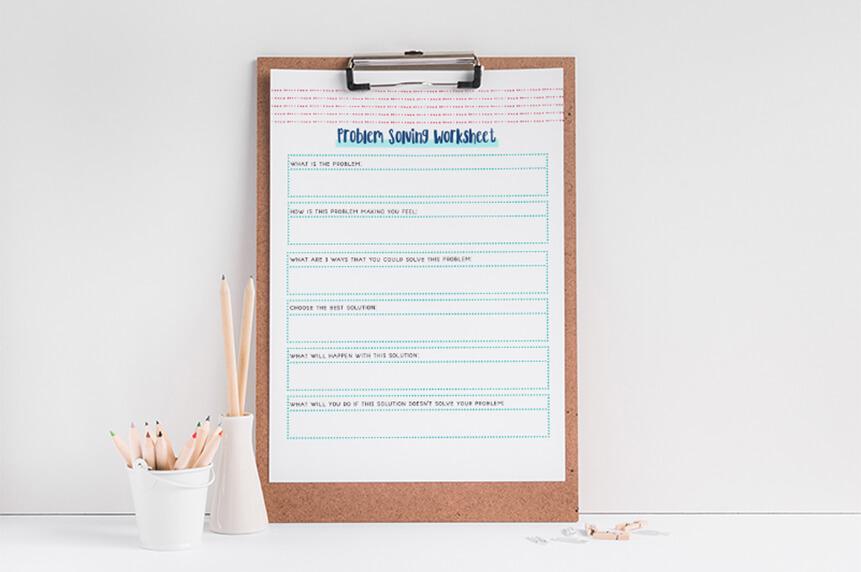Problem Solving Worksheet