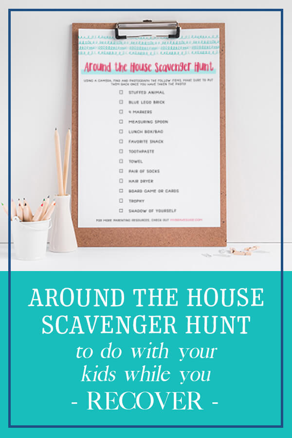 Recovery Scavenger Hunt