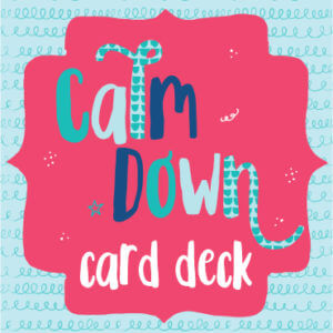 Calm Down Card Deck