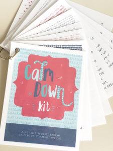 Calm Down Card Deck