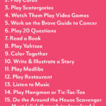 15 Activities to do with your kids while you recover