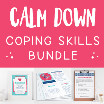 Calm Down Coping Skills Bundle