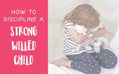 How to Discipline a Strong Willed Child
