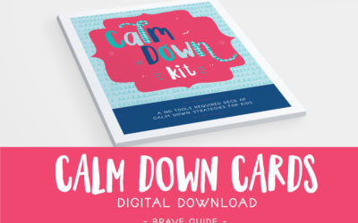 Calm Down Cards