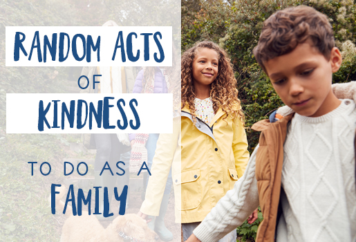 25 Random Acts of Kindness to do as a Family
