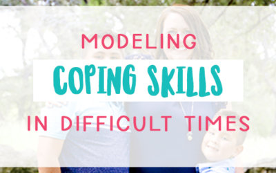 Modeling Coping Skills in Difficult Times