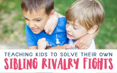 Conflict Resolution for Sibling Rivalry Fights