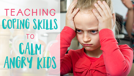Teaching coping skills to calm angry kids