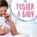 Foster Baby Checklist