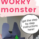 Worry Monster for Scared Kids