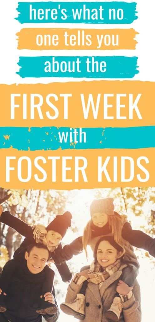 First Week with Foster Kids