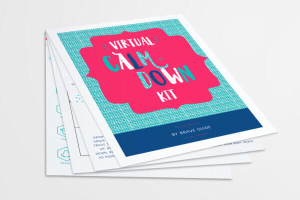 Virtual Calm Down Kit for Therapists