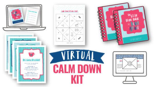Virtual Calm Down Kit for Classrooms