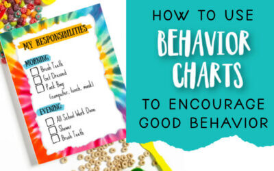 How to Use a Behavior Chart to Encourage Good Behavior