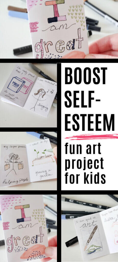Self-Esteem Boosting Craft for Kids