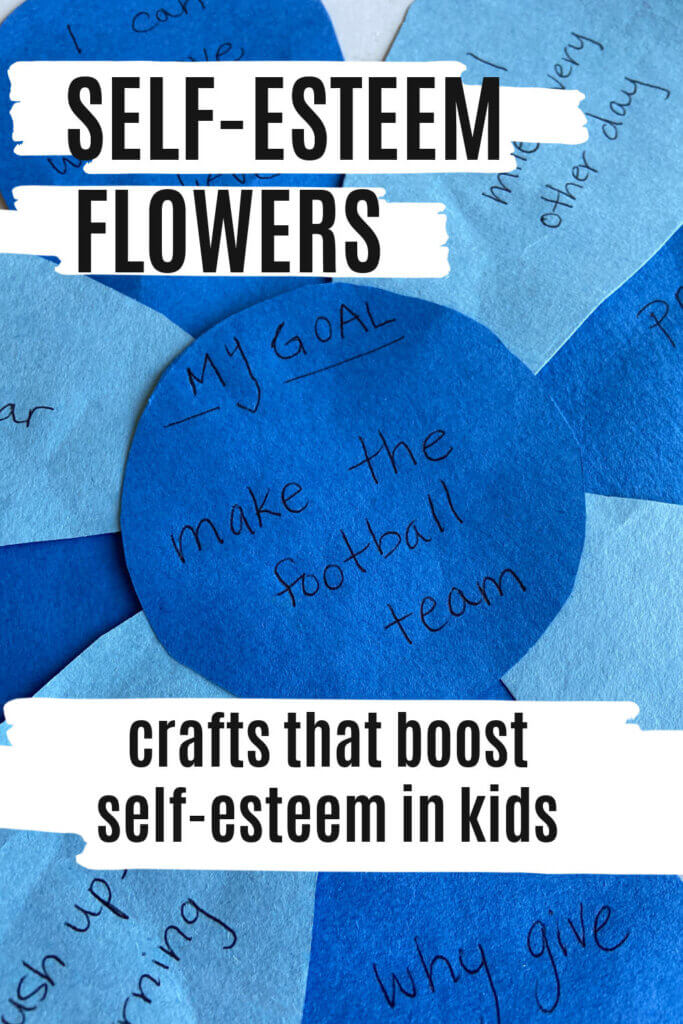 Self Esteem Flower Craft