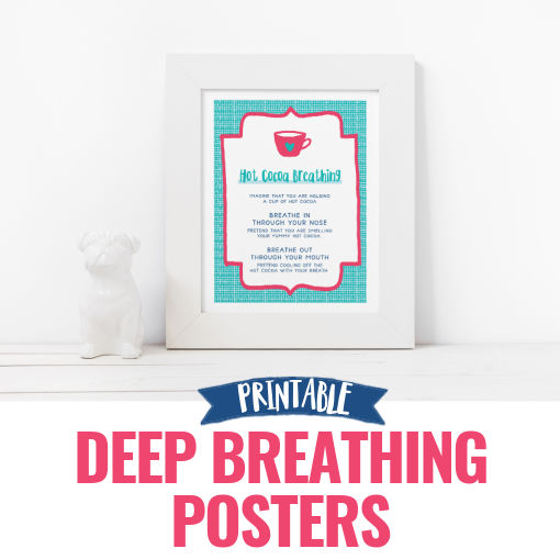 Deep Breathing Posters for Kids