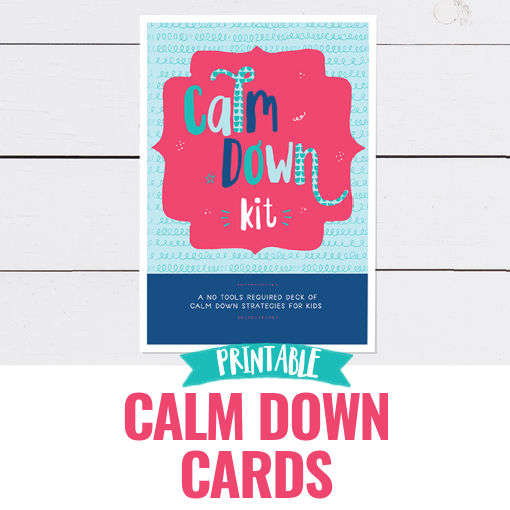 Printable Calm Down Cards
